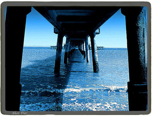 Pier at Deal Art Print