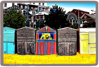 beach huts,broadstairs