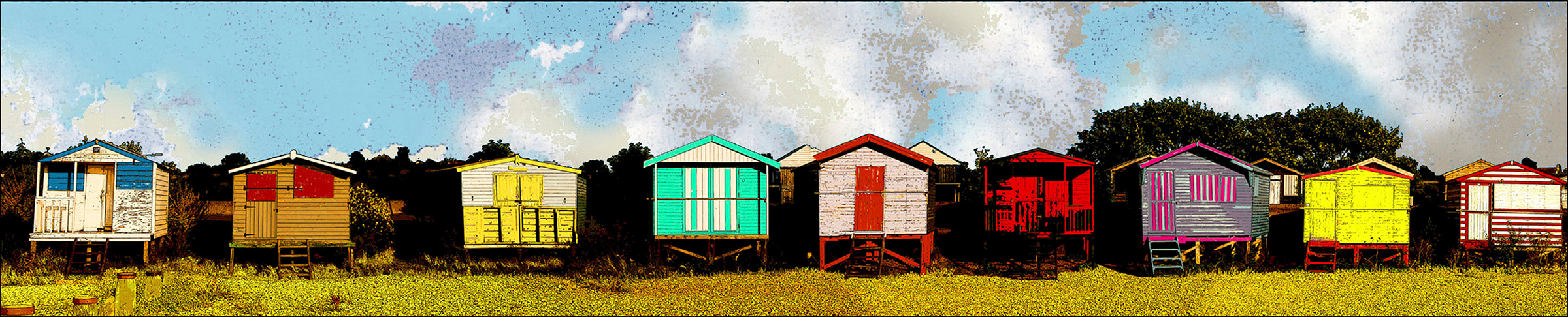 beach huts,whitstable,west beach